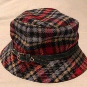 Coach plaid Hat